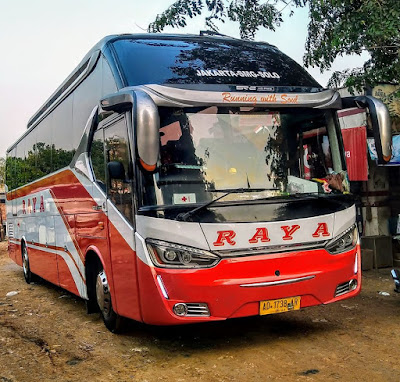 Foto Bus Raya AD 1738 AR
