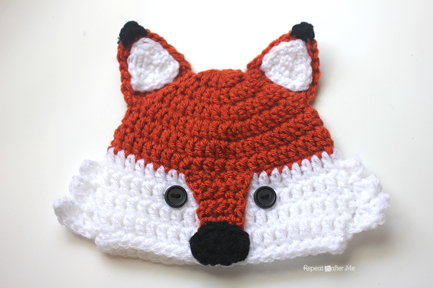Crochet Raccoon Hat Repeat Crafter Me