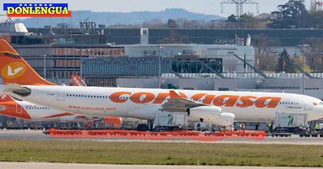 Régimen envió a Suiza un avión repleto de Oro encaletado para poder acceder al COVAX