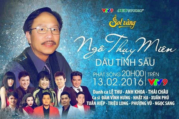 Đêm nhạc tôn vinh 'ông hoàng tình ca Việt' Ngô Thụy Miên - 4