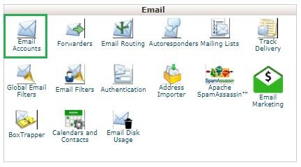 Webmail Di cPanel