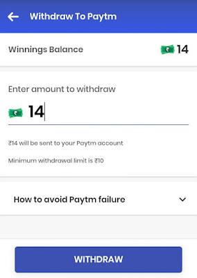 Gamezop Paytm Cash Proof