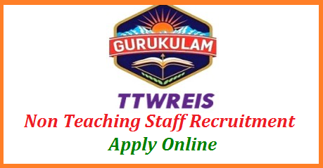 Telangana Gurukulam TTWREIS inviting Online Application from eligible candidates to work as Non Teaching Staff in the Telangana Tribal Welfare Educational Institutions Society Schools, Junior Colleges and Degree Colleges all over the state. Telangana Gurukulam for Engaging of Outsourcing Non Teaching Staff in the TTWREIS ts-gurukulam-non-teaching-staff-recruitment-apply-online-tgtwgurukulam.telangana.gov.in