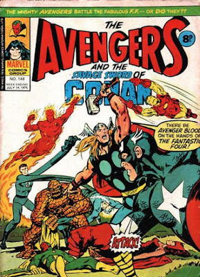 Marvel UK, Avengers #148, Fantastic Four
