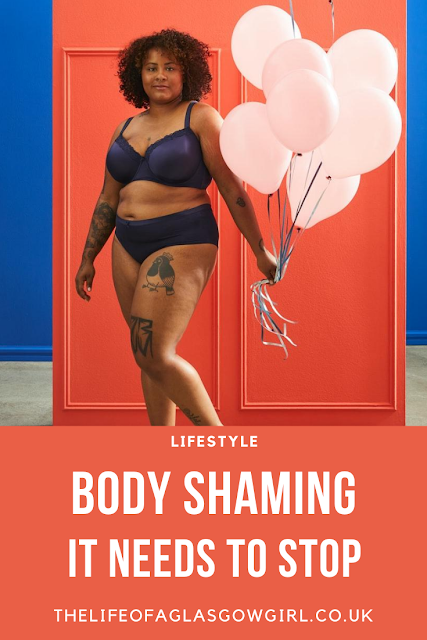 Pinterest Image for Body Shaming, It needs to stop on Thelifeofaglasgowgirl.co.uk