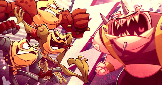 Battletoads returns on PC and Xbox One this summer !!