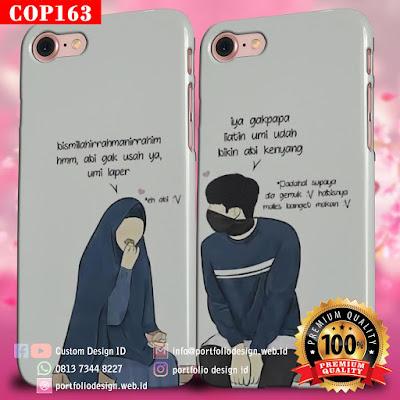 Desain sendiri casing couple muslim terbaru free COP163