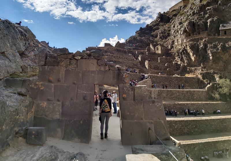 Complexo arqueológico de Ollantaytambo