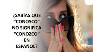 """7 TRADUCCIONES PARA EL TÉRMINO """"CONOSCO"""" AL ESPAÑOL"""