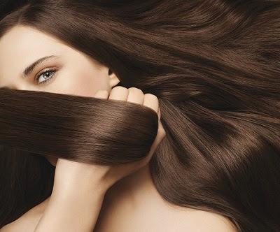 Mujer con cabello bonito