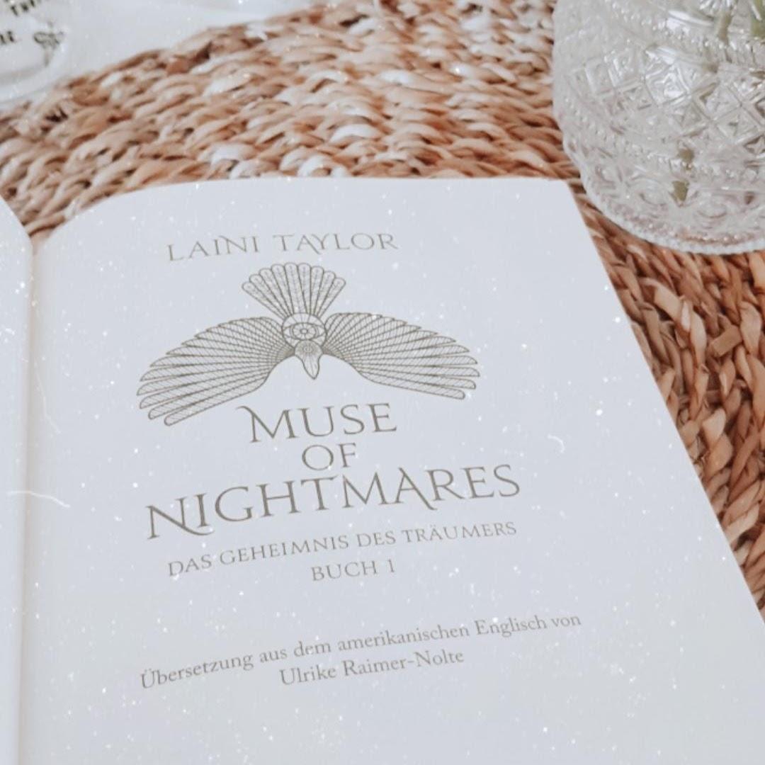 Bücherblog. Kooperation. ONE-Blogger. 2020. Unboxing - Part 4. Muse of Nightmares - Das Geheimnis des Träumers von Laini Taylor