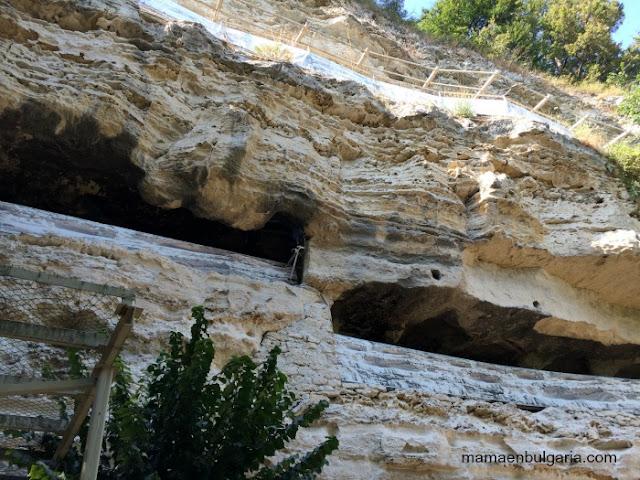 Monasterio rupestre Aladzha, Varna, Bulgaria