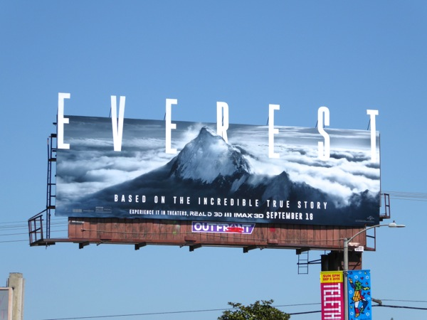 Everest movie billboard