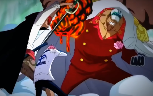 Shanks Saving Coby and Stops The War