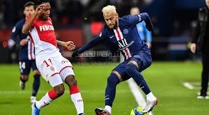 موناكو يفرض التعادل الاجابي على باريس سان جيرمان في قمة الدوري الفرنسي