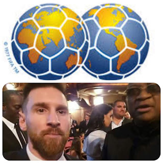 chiyangwa and lionel messi picture