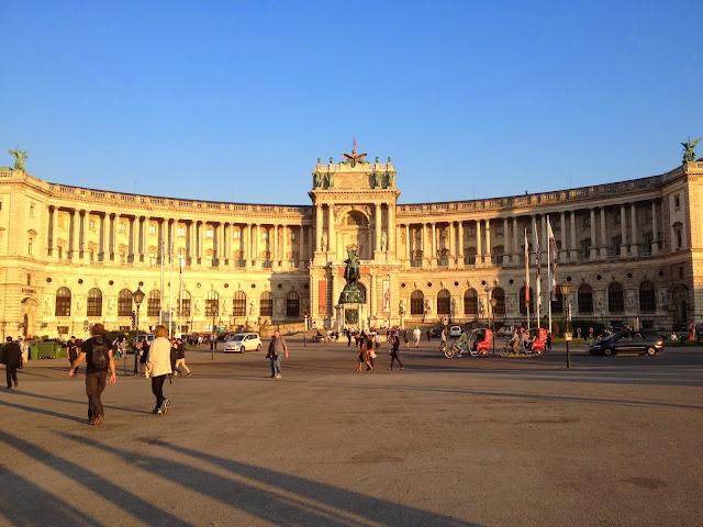 Palacio Imperial de Hofburg Viena