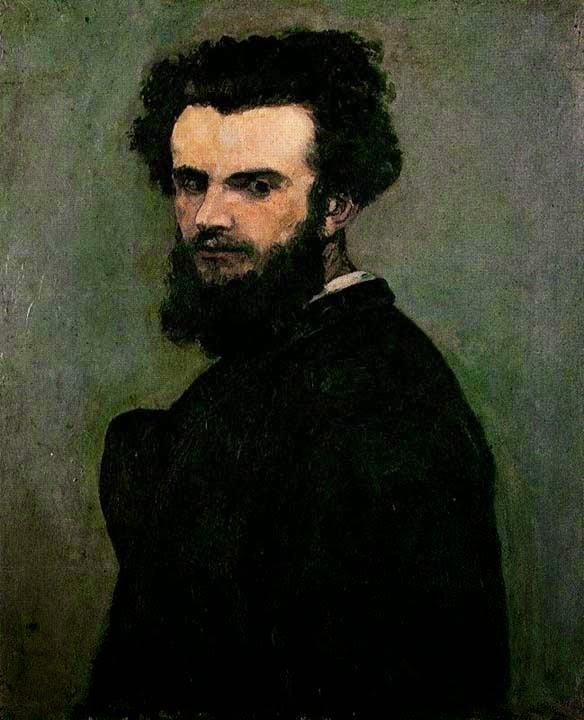 Autorretrato - Armand Guillaumin ~ Pintor Impressionista com cores intensas