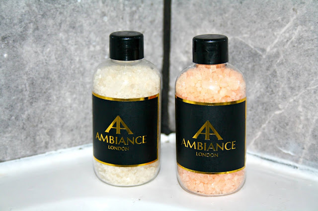 Ambiance London Bath Salts Review with photos