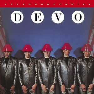Portada del Lp Freedom of Choice (Devo, 1980)