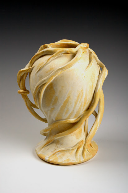 Art Nouveau Ceramic Sculpture