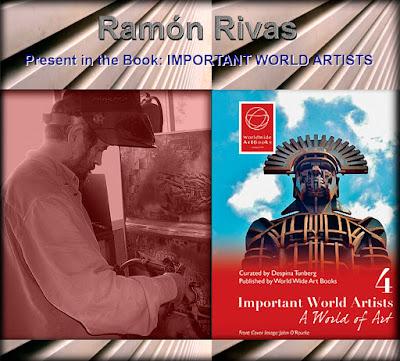 Ramón Rivas en el libro: Important World Artists