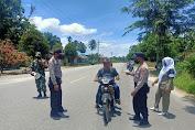 Tegakkan Prokes, TNI-POLRI dan SATPOL PP Jaring Razia Masker