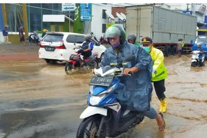 Hujan Deras Semalaman,Sungai Bagong Meluap Dibanyuwangi