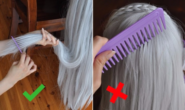How to Clean and Care of the Hair Wigs