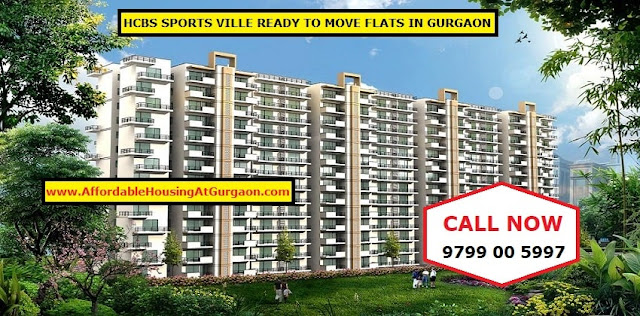 HCBS Sports Ville- Ready To Move affordable housing flats in Gurgaon