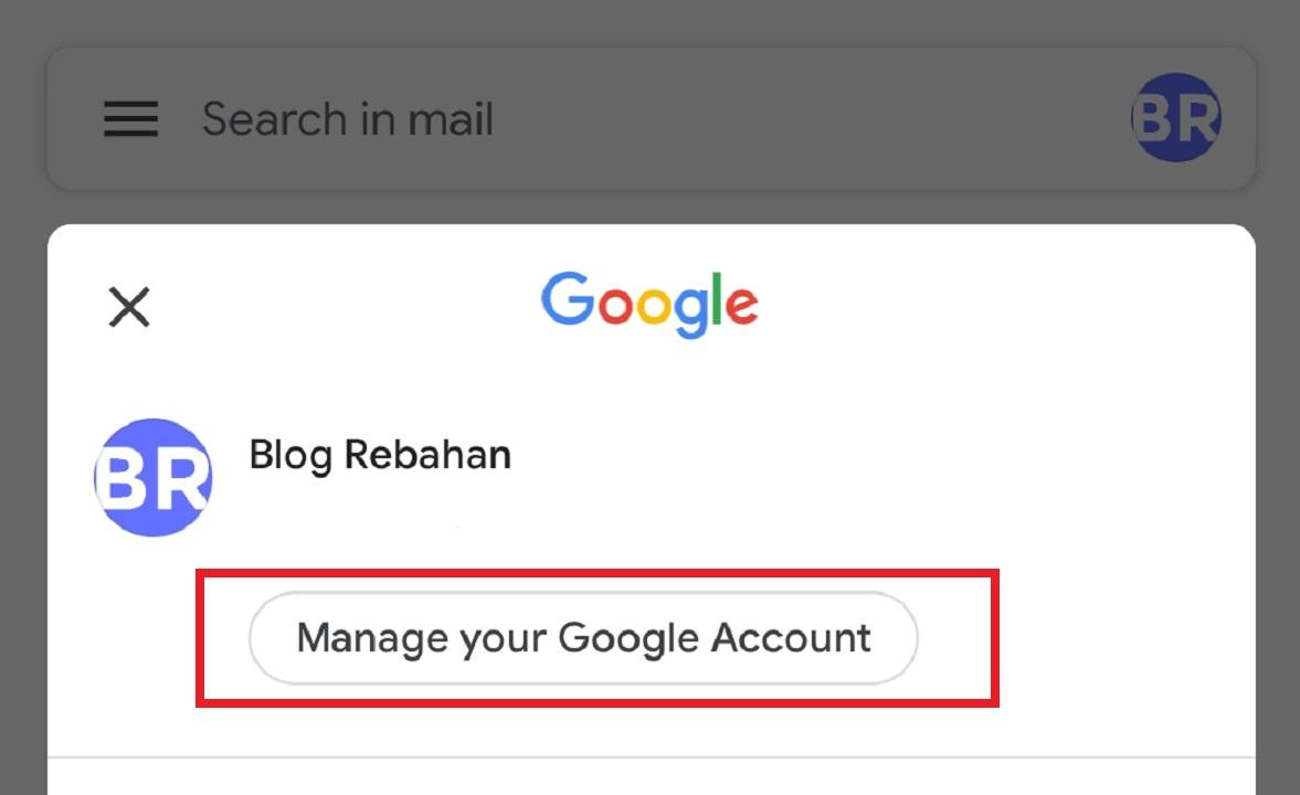 Cara Mengganti Foto Profil Gmail di Komputer/Laptop dan HP