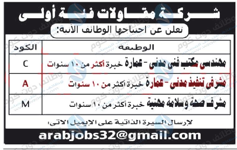 وظائف اهرام الجمعة 12-6-2020 وظائف جريدة الاهرام الاسبوعى