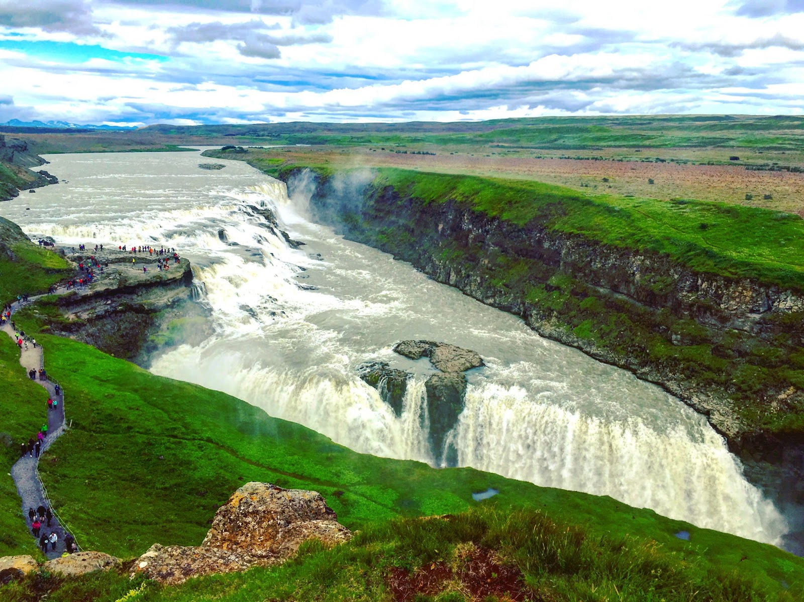 Gullfoss Waterfall, Golden Circle, Iceland