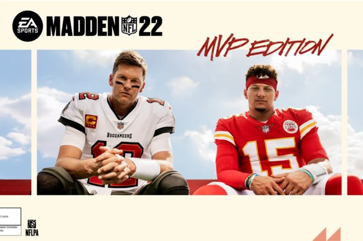 Tom Brady And Patrick Mahomes On The Cover Of Madden 22