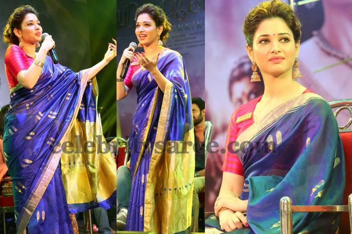 4b9edfaee59a5 Tamanna Raw Mango Chanderi Saree - Saree Blouse Patterns