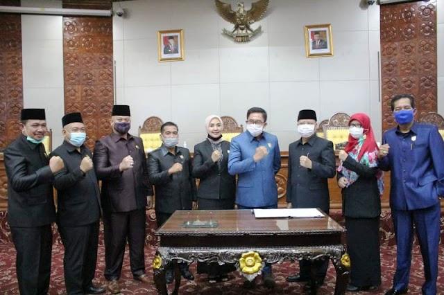 Raperda APBD TA 2019 Disetujui DPRD Provinsi Bengkulu