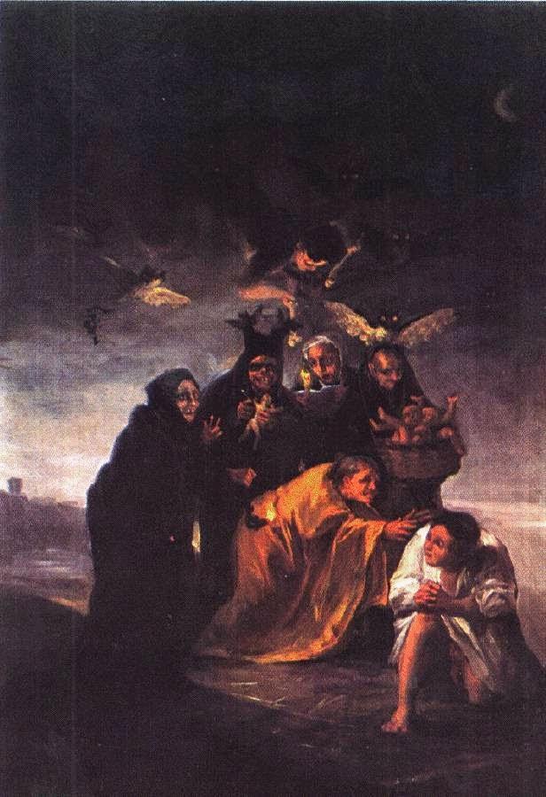 Encantamento - Goya, Francisco e suas pinturas ~ Foi um importante pintor espanhol da fase do Romantismo