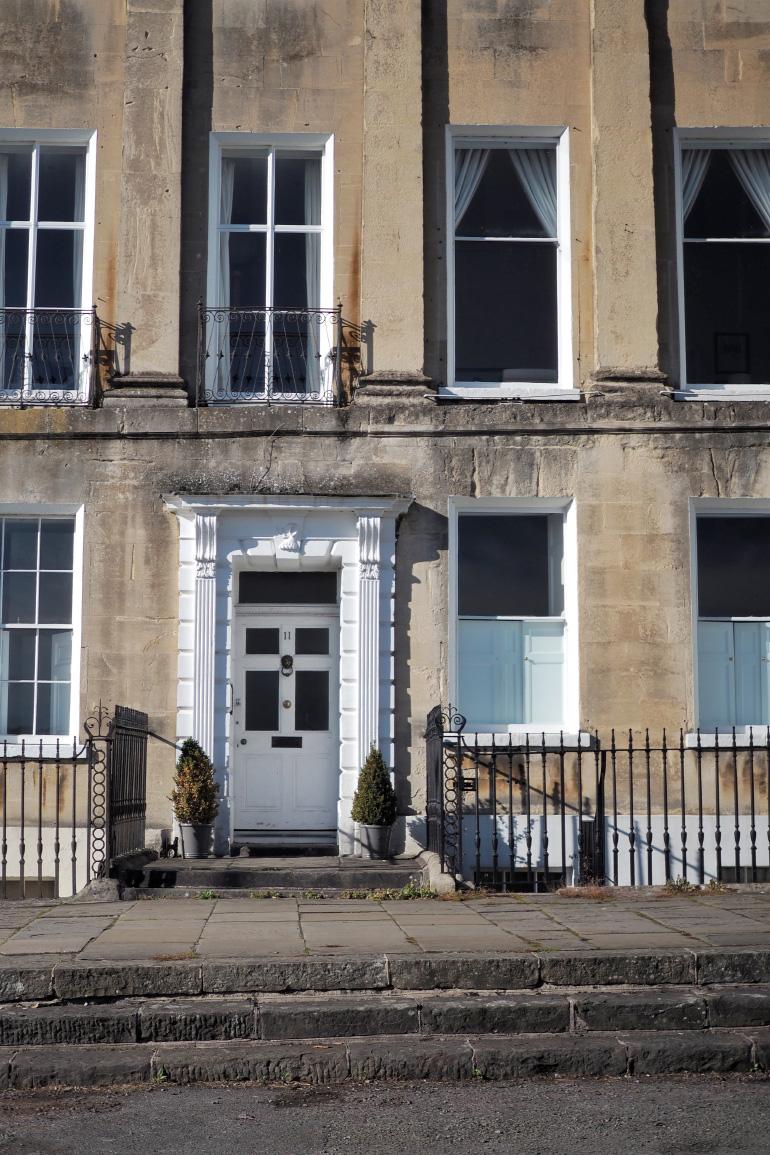Ville thermale de Bath dans les Cotswolds en Angleterre