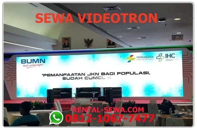 SEWA VIDEOTRON JAKARTA