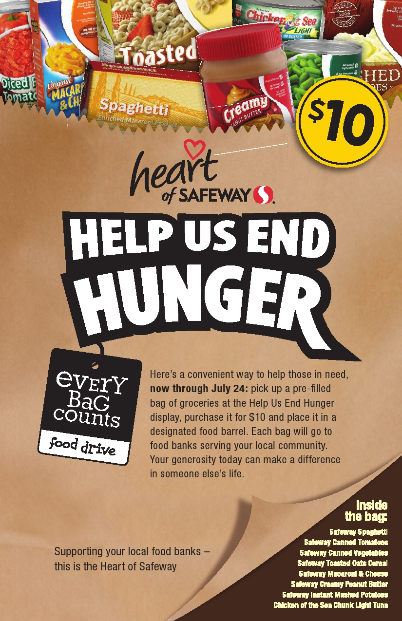 Growing Tables: Safeway Summer Food Drive