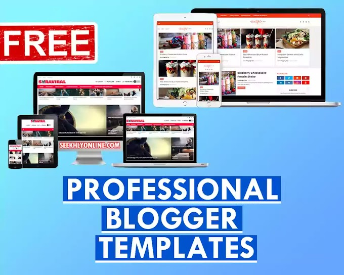Professional Blogger Templates Free | Responsive Blogger Templates Free