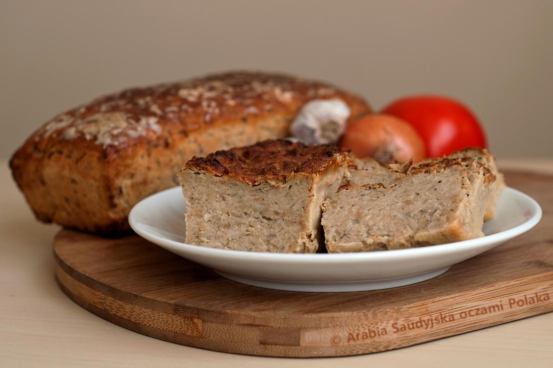 Pasztet wegetariański pieczony