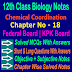 Chemical Coordination 12 Class Biology Notes