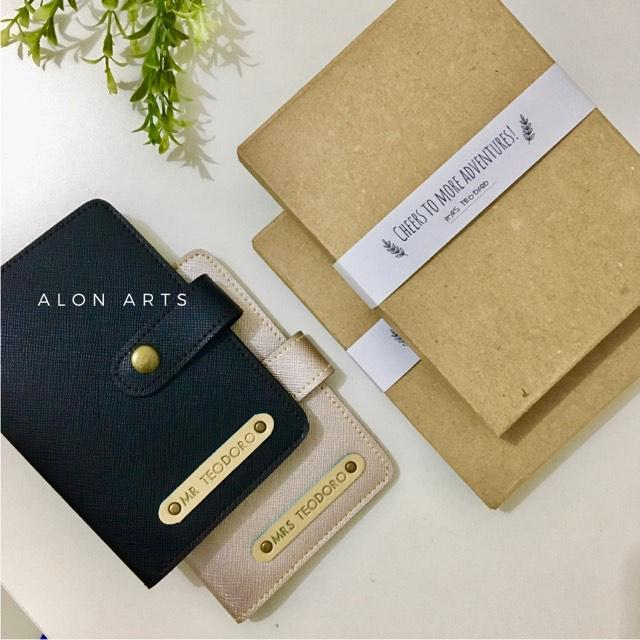 personalized passport holder alon arts
