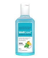 WellCare+ Antiseptic Hand Sanitizer (IPA) - 60 ml