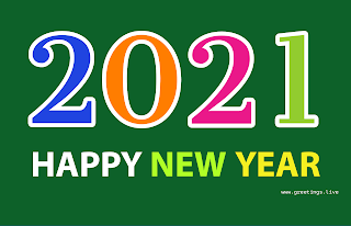2021 new year greetings png inages