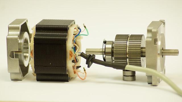 rotor dan stator motor listrik