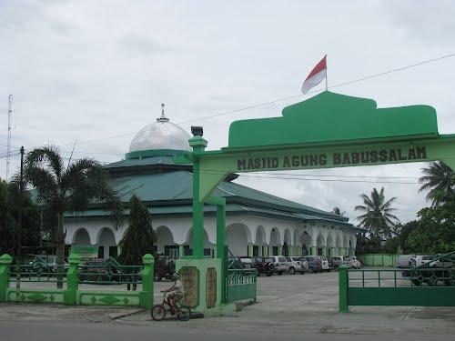 Masjid Agung Babussalam Timika Papua