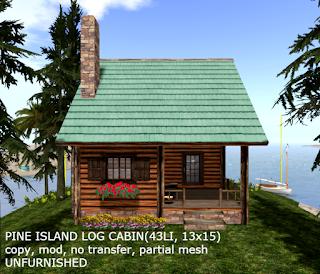 Pine Island Log Cabin