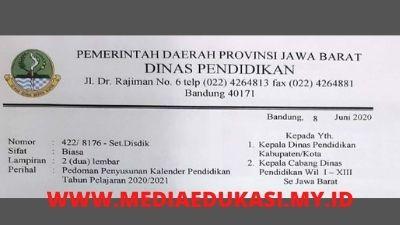 Kalender Pendidikan 2020 Dan 2021 Jawa Barat